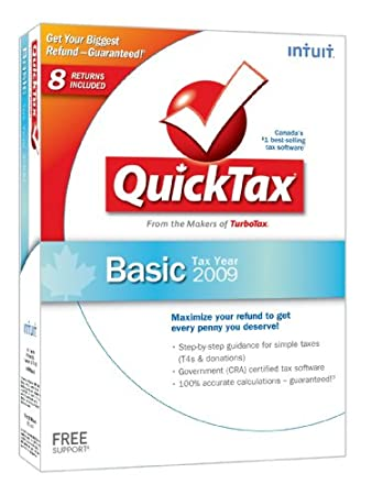 QuickTax Basic 2009 [Old Version]