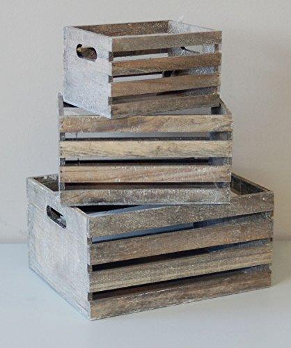 Deko-Holz-Kisten-3er-Set-Vintage