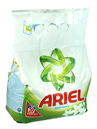 5 x Ariel Washing Powder 20 Wash Pack White Flowers