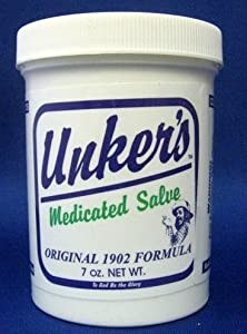 Unker's Medicated Salve, 7 oz