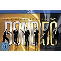 James Bond - Bond 50: Die James Bond Jubil�ums-Collection [23 Blu-rays]