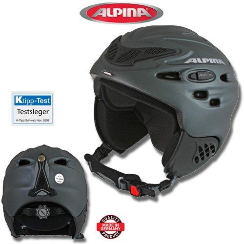 ALPINA Skihelm Snowboardhelm SCARA titan-matt, 55-59 cm
