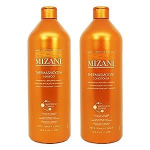 Mizani Thermasmooth Shampoo + Conditioner 33.8 oz