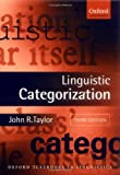 cover of Linguistic Categorization (Oxford Textbooks in Linguistics)