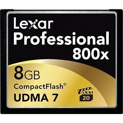 Lexar Professional 8GB CF 800x Memory Card