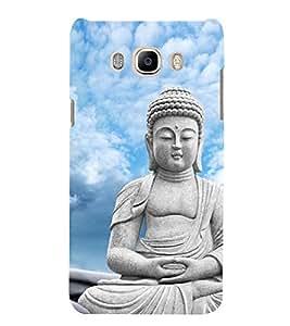 Buddha 3D Hard Polycarbonate Designer Back Case Cover for Samsung Galaxy J7 (6) 2016 Edition :: Samsung Galaxy J7 (2016) Duos :: Samsung Galaxy J7 2016 J710F J710FN J710M J710H