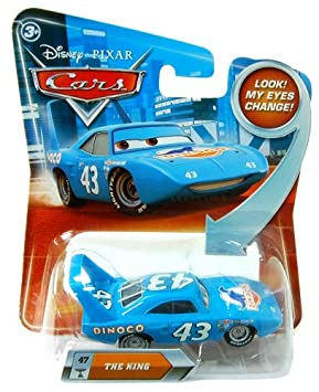 [2011 eyes move Disney Cars minicar / King! ] Out of print! (japan import)