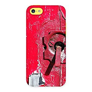 Ajay Enterprises WoPrint Red Door Back Case Cover for iPhone 5C