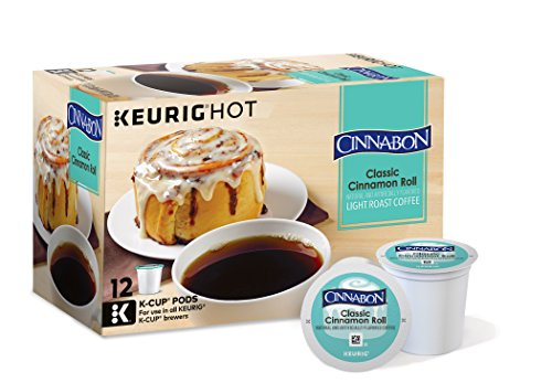 Cinnabon Classic Cinnamon Roll Coffee, Keurig K-Cups, 72 Count (Keurig K Cups Cinnabon compare prices)
