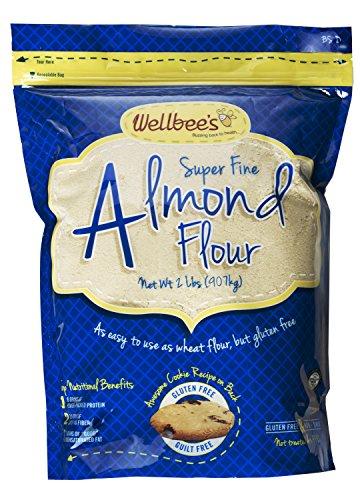 Wellbee's Super Fine Blanched Almond Flour / Powder 2 LB. (Almonds Steam compare prices)