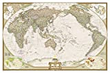 World Executive, Pacific Centered (National Geographic Reference Map)