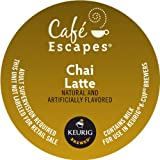 Keurig, Café Escapes, Chai Latte, K-Cup packs, 12 Count, (Pack of 6)