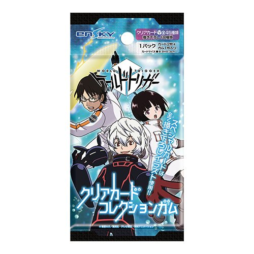 ワールドトリガー クリアカードコレクションガム 16個入り BOX(食玩・ガム)
