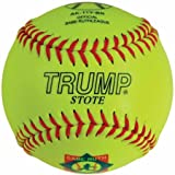 Trump® AK-11YBR 11 Inch 47/375 Babe Ruth Synthetic Leather Softball (Sold by the DZ.)