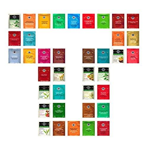 Custom Variety Tea bags Sampler Assortment Variety Pack Tea Bags