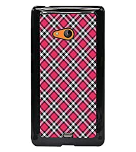 PrintDhaba Pattern D-5277 Back Case Cover for MICROSOFT LUMIA 540 (Multi-Coloured)