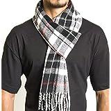 Alpine Swiss Winter Scarf Soft Elegant Long Fashion Wrap Scarves Red Plaid