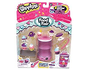 Shopkins Cupcake Collection Food Deluxe Packs
