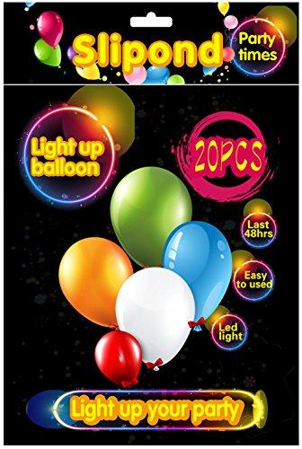 Slipond-LED-Balloons-20-PCS-Light-Up-Balloons-Party-Favors-For-Kids-Birthday