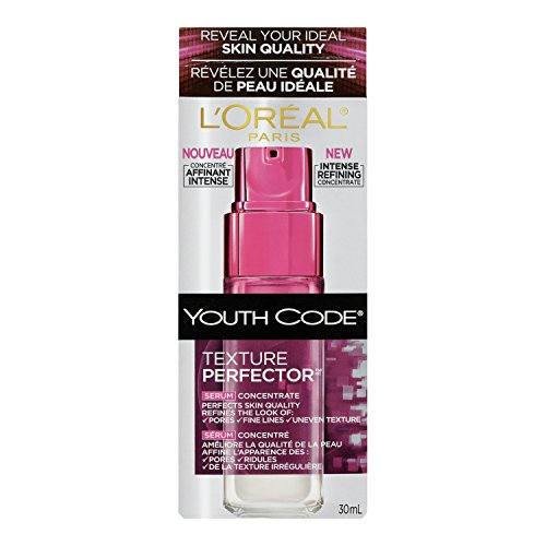 L'Oreal Paris discount duty free L'Oreal Paris Youth Code Texture Perfector Serum, 1.0 Fluid Ounce