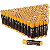 100PK , AAA : Silicon Power Alkaline Sp/Silicon Power 100 Pack AAA Alkaline Batteries - 1.5V Anti-Leakage Protection...