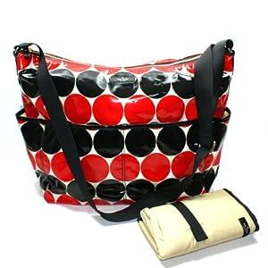 Kate Spade Serena Baby Bag Daycation Dot Diaper Bag/ Crossbody Bag (Red) from Kate Spade