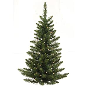 #!Cheap 3 ft. PVC Christmas Tree - Green - Camdon Fir - 97 Tips - Unlit - Vickerman A861135-Wall Tree