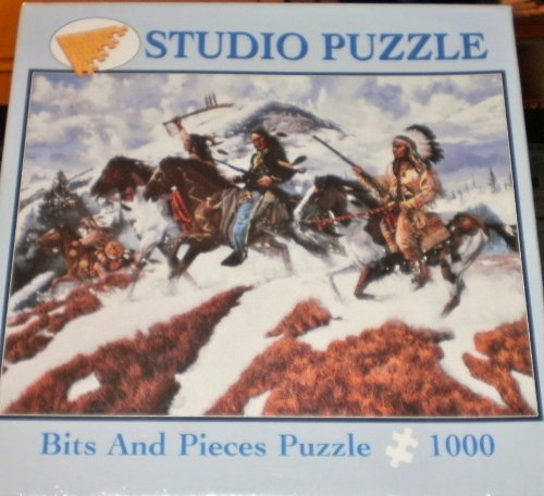 "Bits and Pieces Studio Puzzle- ""Warrior Spirit"" By Richard Luce-1000 Pieces"