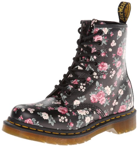 dr martens women 39 s 1460 w chukka boot black vintage rose softy 8 uk women 39 s 10 m us pretty in. Black Bedroom Furniture Sets. Home Design Ideas