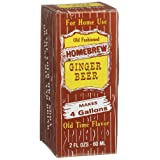 Homebrew Ginger Beer Concentrated Extract, 2-Ounce Boxes (Pack of 3) ~ Rainbow