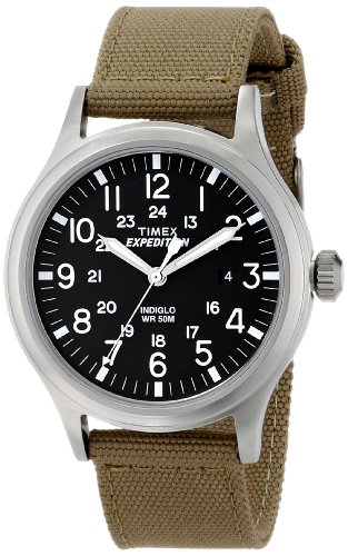 Timex Men's T49962 Expedition Scout Tan Nylon Strap Watch at Sears.com