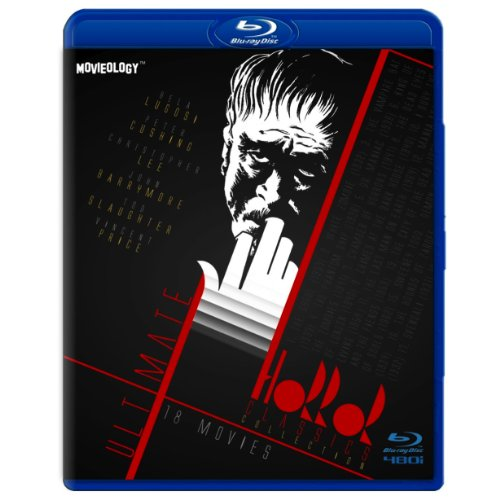 Ultimate Horror Classics Collection (SD Blu-Ray) (The Ghoul / White Zombie / Sweeney Todd / House on Haunted Hill / Phantom Ship / King Of Zombies / Last Man On Earth / Carnival Souls / Crimes At Dark House / Mania / Svengali / Terror)