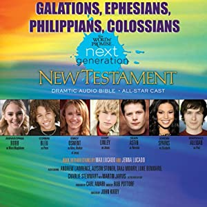 (31) Galatians-Ephesians-Philippians-Colossians, The Word of Promise Next Generation Audio Bible: ICB | [Thomas Nelson, Inc.]