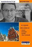 echange, troc Udo Gollub - Sprachenlernen24.de Lettisch-Express-Sprachkurs: CD-ROM für Windows/Linux/Mac OS X + MP3-Audio-CD für Computer /MP3-Player /M