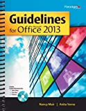 img - for Guidelines for Microsoft Office 2013 (Guidelines Series) book / textbook / text book