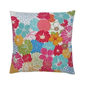 Blissliving Home Posey Pillow, 18 by 18 Inches