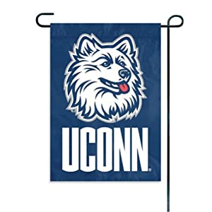 Buy Connecticut Huskies Garden Window Flag by Party Animal