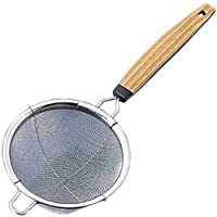 1 X Stainless Steel Tea Strainer w/ Handle #5516