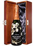 Perrier Jouet Belle Epoque Brut Champagne in Luxury Hinged Stained Wooden Box 2006 75 cl