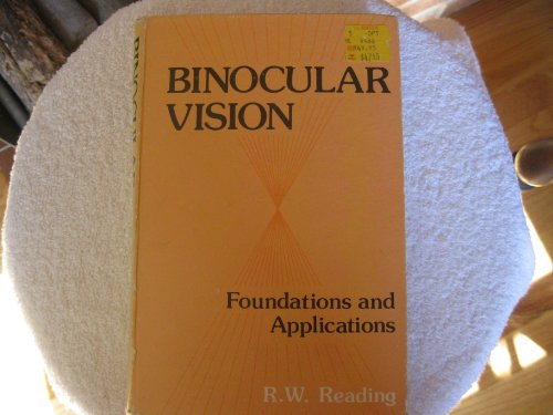 Binocular Vision: Foundations And Applications