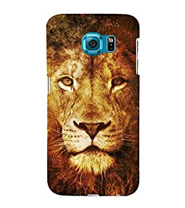 Lion 3D Hard Polycarbonate Designer Back Case Cover for Samsung Galaxy S6 Edge+ :: Samsung Galaxy S6 Edge Plus :: Samsung Galaxy S6 Edge+ G928G :: Samsung Galaxy S6 Edge+ G928F G928T G928A G928I