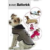 Butterick Patterns B4885 Dog Coats, All Sizes