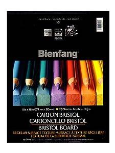 Bienfang Drawing Bristol vellum 11 in. x 14 in. [PACK OF 2 ]