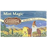 Celestial Seasonings Herb Tea, Mint Magic, 20-Count Tea Bags (Pack of 6)