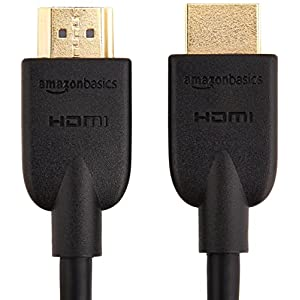 AmazonBasics High-Speed HDMI 2.0 Cable - 0.9m / 3 Feet (Latest Standard) Supports Ethernet, 3D, Audio Return