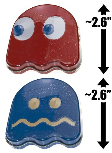 Pac-Man Ghost Candy 2-Tin Pack