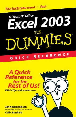 Excel 2003For Dummies Quick Reference front-1015007