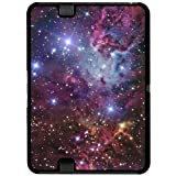 Fox Fur Nebula - Galaxy Stars Space Universe - Snap On Hard Protective Case for Amazon Kindle Fire HD 7in Tablet (Previous 2012 Release Version)