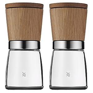 wmf 0652314500 salt and pepper mills set of 2 wooden kitchen home. Black Bedroom Furniture Sets. Home Design Ideas