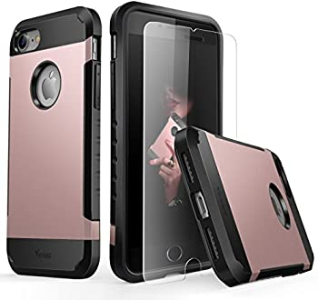 Yesgo Slim Case for iPhone 7 w/Screen Protector
